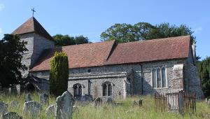 St Anthony's Church Alkham in Kent