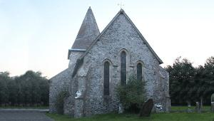 St Laurences Church Hougham in Kent